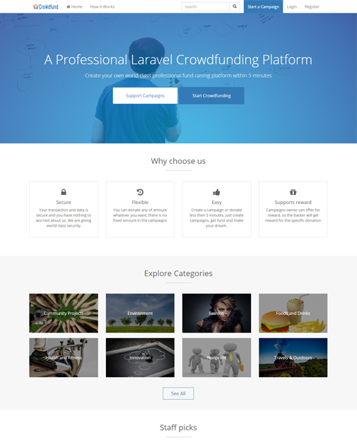 Crowdfunding Software, Donation Software, Fundraising Software, Equity Crowdfunding Software,
